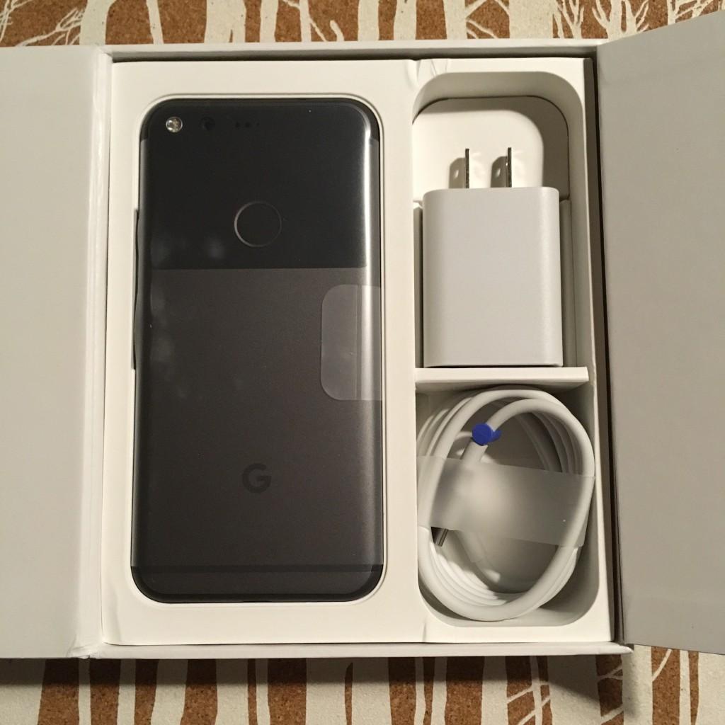 Opened Google Pixel