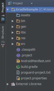 IntelliJ IDEA にインポートした構成